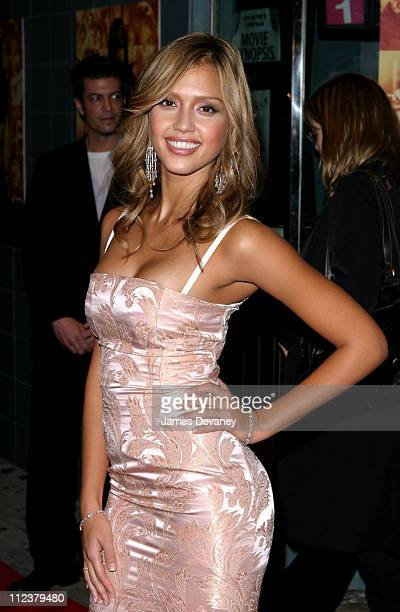 Jessica Alba during 'Honey' New York Premiere Outside Arrivals at Chelsea West Theater in New York City New York United States