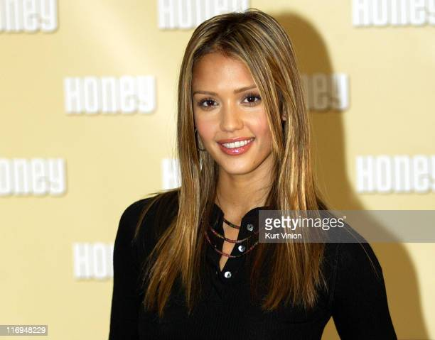 Jessica Alba during 'Honey' Photocall In Berlin at Hotel Adlon in Berlin Germany