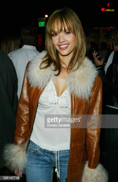 Jessica Alba during Maxim Magazine Annual 'Hot 100' Party Inside at SoHo in Hollywood California United States