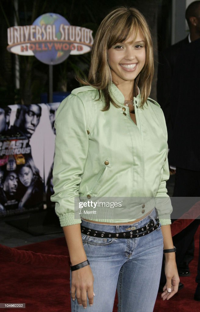 <a gi-track='captionPersonalityLinkClicked' href=/galleries/search?phrase=Jessica+Alba&family=editorial&specificpeople=201811 ng-click='$event.stopPropagation()'>Jessica Alba</a> during The World Premiere of '2 Fast 2 Furious' at Universal Amphitheatre in Universal City, California, United States.
