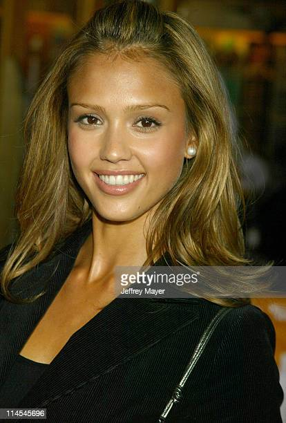 Jessica Alba during The World Premiere Of 'The Rundown' at Universal Amphitheater in Universal City California United States