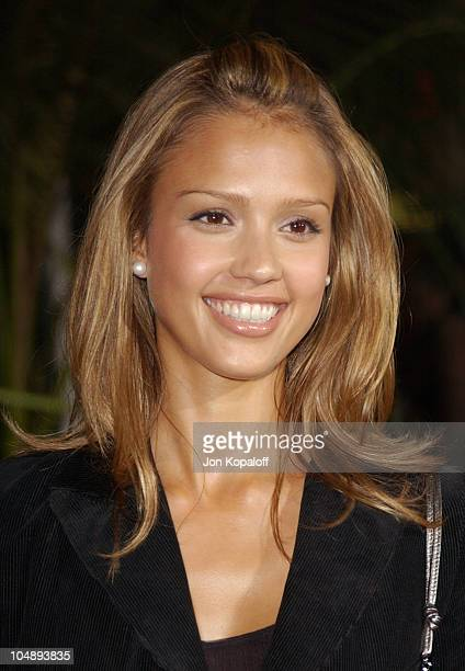 Jessica Alba during World Premiere of 'The Rundown' at Universal Amphitheatre in Universal City California United States