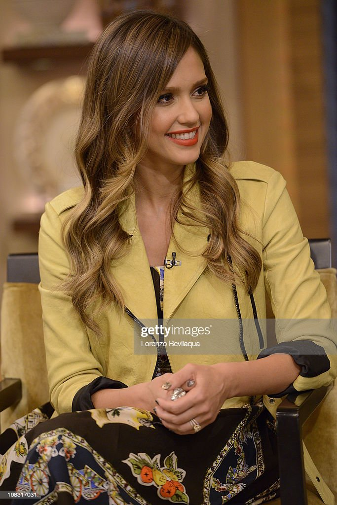 MICHAEL -5/8/13 - Jessica Alba is a guest on 'LIVE with Kelly and Michael,' distributed by Disney-ABC Domestic Television. ALBA