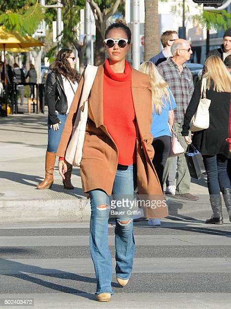 Jessica Alba is seen on December 23 2015 in Los Angeles California