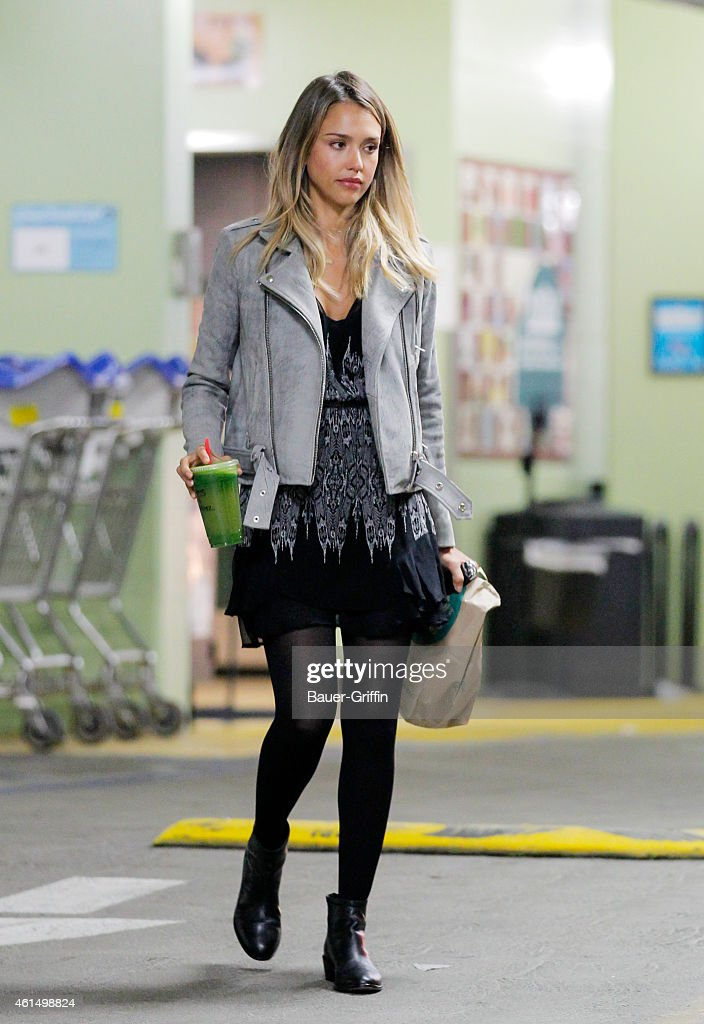 Jessica Alba is seen on January 13 2015 in Los Angeles California