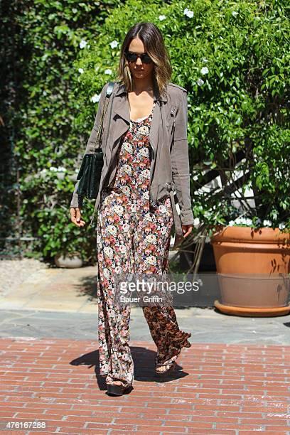 Jessica Alba is seen on June 06 2015 in Los Angeles California