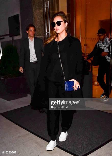 Jessica Alba is seen walking in Soho on September 10 2017 in New York City