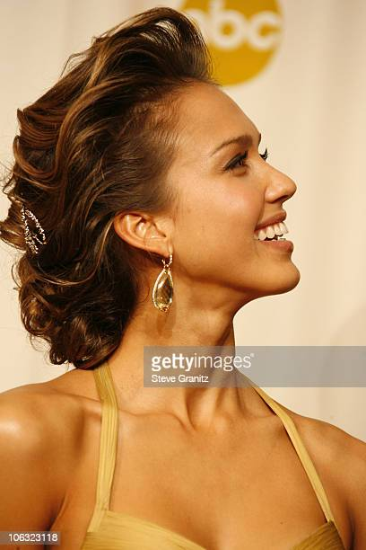 Jessica Alba presenter during The 78th Annual Academy Awards Press Room at Kodak Theatre in Hollywood California United States