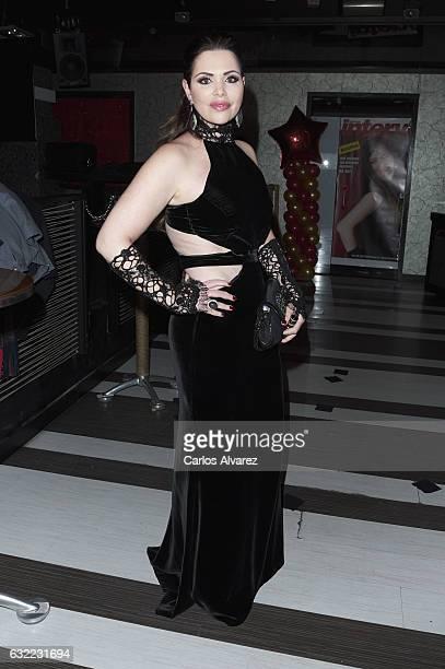 Jessica Asensio attends 'Mensajeros de La Paz' charity party at Silk Soya restaurant on January 20 2017 in Alcobendas Spain