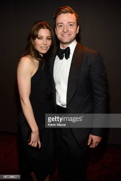 Jessica Biel and Justin Timberlake attend TIME 100 Gala TIME'S 100 Most Influential People In The World at Jazz at Lincoln Center on April 23 2013 in...