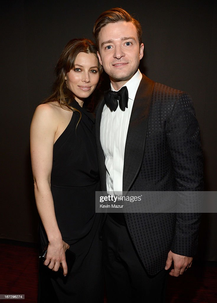 Jessica Biel and Justin Timberlake attend TIME 100 Gala, TIME'S 100 Most Influential People In The World at Jazz at Lincoln Center on April 23, 2013 in New York City.