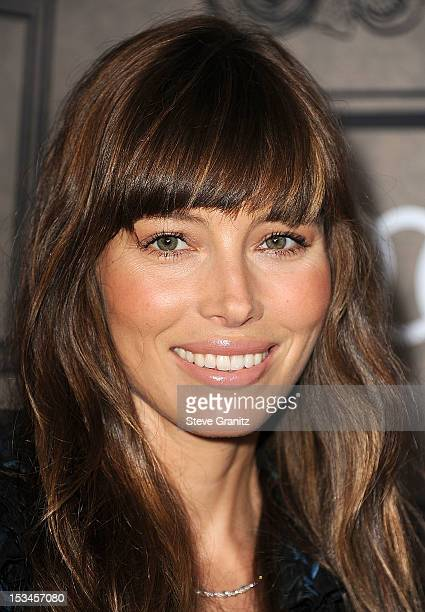 Jessica Biel arrives at the Variety's Power Of Women Presented By Lifetime at the Beverly Wilshire Four Seasons Hotel on October 5 2012 in Beverly...