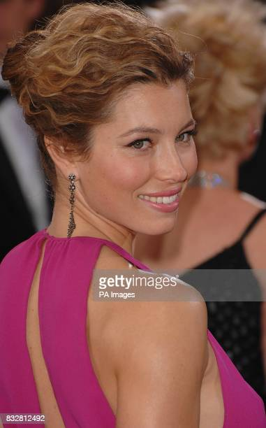 Jessica Biel arrives for the 79th Academy Awards at the Kodak Theatre Los Angeles