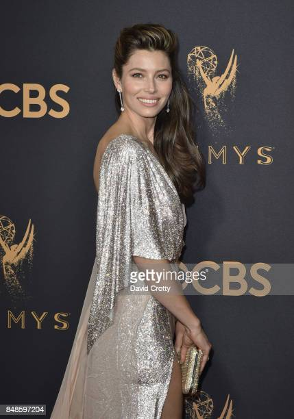 Jessica Biel attends the 69th Annual Primetime Emmy Awards at Microsoft Theater on September 17 2017 in Los Angeles California