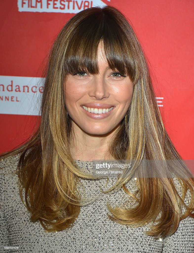 <a gi-track='captionPersonalityLinkClicked' href=/galleries/search?phrase=Jessica+Biel&family=editorial&specificpeople=203011 ng-click='$event.stopPropagation()'>Jessica Biel</a> attends the 'Emanuel and The Truth About Fishes' Premiere during the 2013 Sundance Film Festival at Library Center Theater on January 18, 2013 in Park City, Utah.
