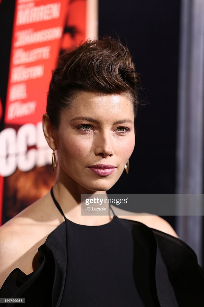 <a gi-track='captionPersonalityLinkClicked' href=/galleries/search?phrase=Jessica+Biel&family=editorial&specificpeople=203011 ng-click='$event.stopPropagation()'>Jessica Biel</a> attends the 'Hitchcock' - Los Angeles Premiere at the Academy of Motion Picture Arts and Sciences on November 20, 2012 in Beverly Hills, California.
