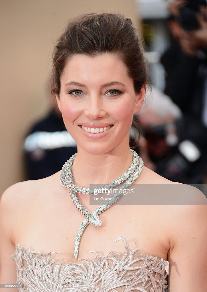 <a gi-track='captionPersonalityLinkClicked' href=/galleries/search?phrase=Jessica+Biel&family=editorial&specificpeople=203011 ng-click='$event.stopPropagation()'>Jessica Biel</a> attends the 'Inside Llewyn Davis' Premiere during the 66th Annual Cannes Film Festival at Grand Theatre Lumiere on May 19, 2013 in Cannes, France.