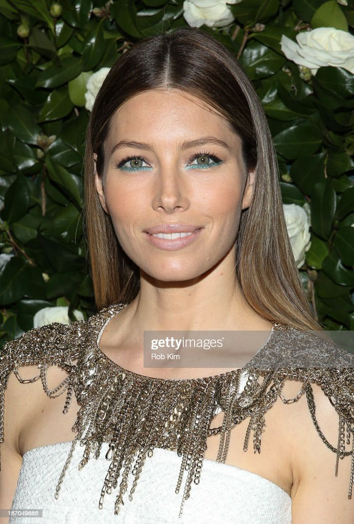 Jessica Biel attends the Museum of Modern Art 2013 Film benefit A Tribute To Tilda Swinton on November 5 2013 in New York City