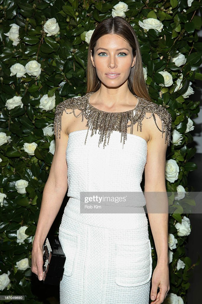 Jessica Biel attends the Museum of Modern Art 2013 Film benefit: A Tribute To Tilda Swinton on November 5, 2013 in New York City.
