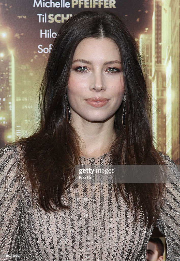 <a gi-track='captionPersonalityLinkClicked' href=/galleries/search?phrase=Jessica+Biel&family=editorial&specificpeople=203011 ng-click='$event.stopPropagation()'>Jessica Biel</a> attends the 'New Year's Eve' premiere at the Ziegfeld Theatre on December 7, 2011 in New York City.