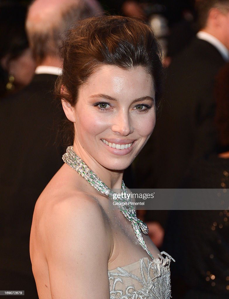 <a gi-track='captionPersonalityLinkClicked' href=/galleries/search?phrase=Jessica+Biel&family=editorial&specificpeople=203011 ng-click='$event.stopPropagation()'>Jessica Biel</a> attends the Premiere of 'Inside Llewyn Davis' at The 66th Annual Cannes Film Festival on May 19, 2013 in Cannes, France.