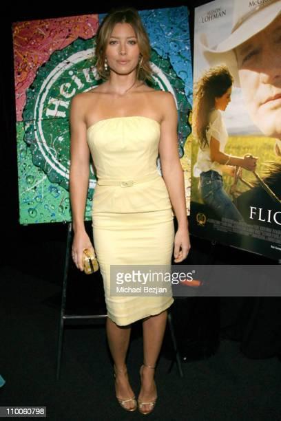 Jessica Biel during Heineken hosts 12th Annual Critics' Choice Awards Cocktail Party at Santa Monica Civic Auditorium in Santa Monica California...