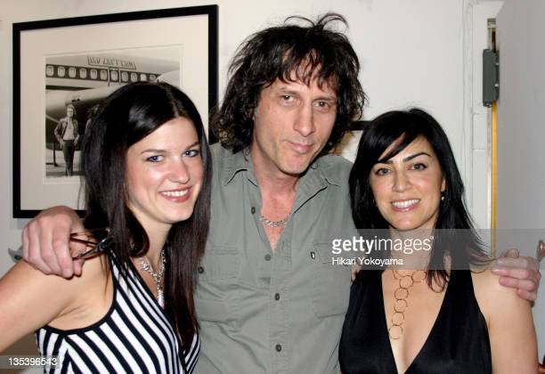 Jessica Blachley Mickey Leigh and Vanessa Moran during Bob Gruen Print Sale Benefiting the Joey Ramone Foundation at Morrison Hotel Gallery Loft in...