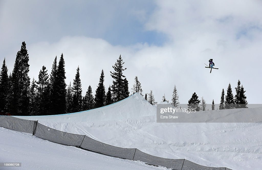 Jessica Breda competes in the FIS Freestyle Ski World Cup ladies' slope style final at the U.S. Grand Prix on January 12, 2013 in Copper Mountain, Colorado.