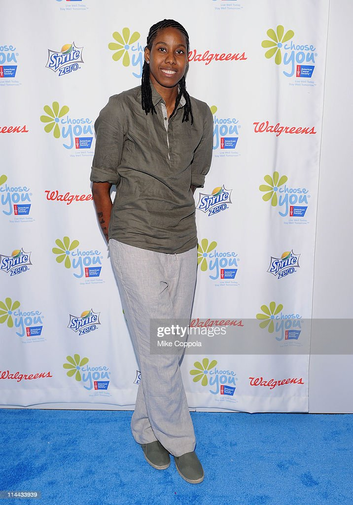 Jessica Breland of the WNBA attends preview of the first ever 'Choose You' documentary, created by Executive Producer Hilary Swank, alongside 2S Films and Go Go Luckey Entertainment, in colaboration with The American Cancer Society at Metropolitan Pavilion on May 19, 2011 in New York City.