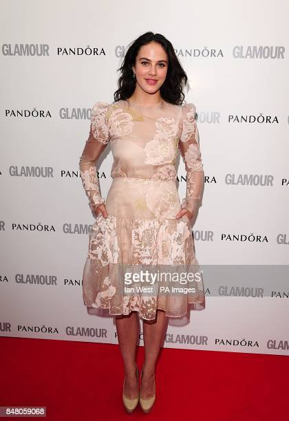 Jessica Brown Findlay at the 2012 Glamour Women of the Year Awards in Berkeley Square London