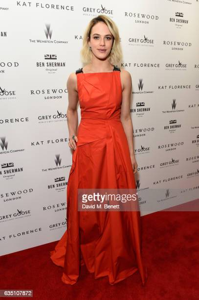 Jessica Brown Findlay attends as The Weinstein Company Entertainment Film Distributors and STUDIOCANAL celebrate the 2017 BAFTA after party in...