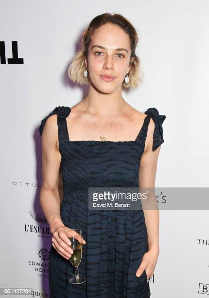 Jessica Brown Findlay attends 'Brave New Works The Almeida Fundraising Gala 2017' at The Almeida Theatre on March 30 2017 in London England