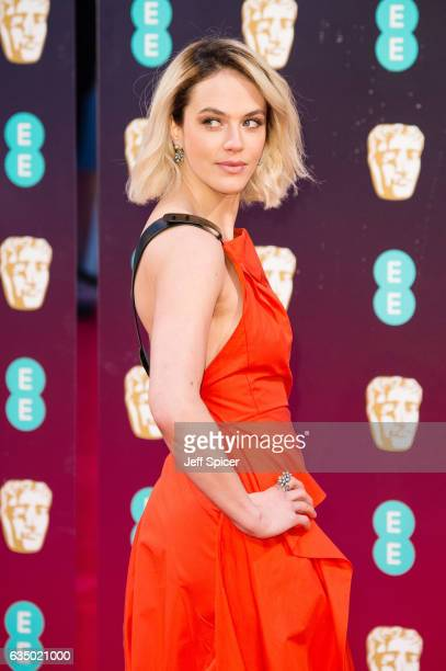 Jessica Brown Findlay attends the 70th EE British Academy Film Awards at Royal Albert Hall on February 12 2017 in London England