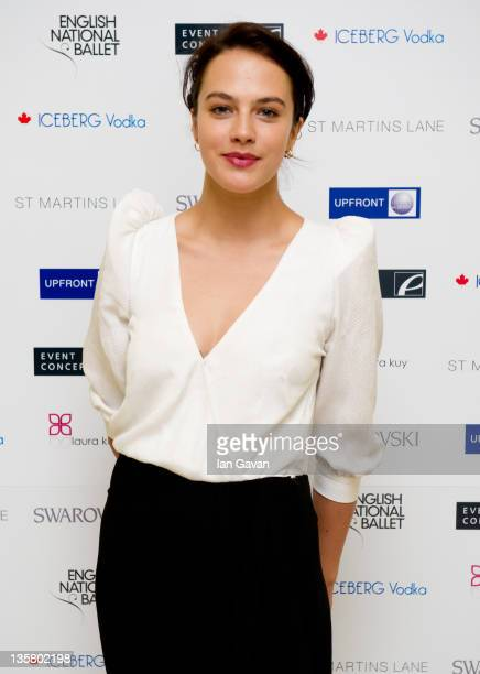Jessica Brown Findlay attends The English National Ballet's Christmas Party at the St Martins Lane Hotel on December 14 2011 in London England