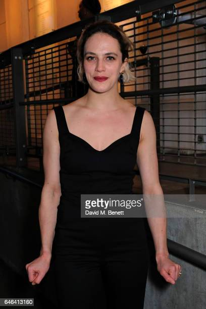 Jessica Brown Findlay attends the press night after party for 'Hamlet' at The Almeida Theatre on February 28 2017 in London England