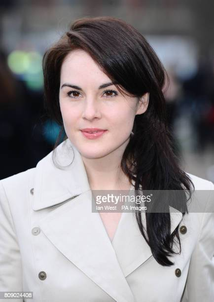 Jessica BrownFindlay arrives for the Burberry Fashion Show at Hyde Park in London PRESS ASSOCIATION Photo Picture date Monday February 21 2011