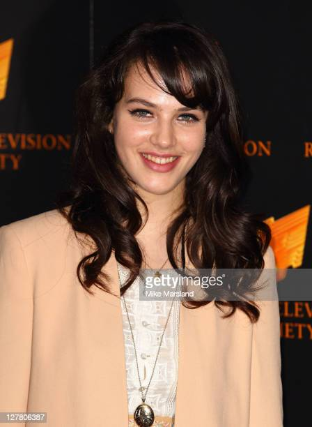 Jessica BrownFindlay attends RTS Programme Awards at The Grosvenor House Hotel on March 15 2011 in London England