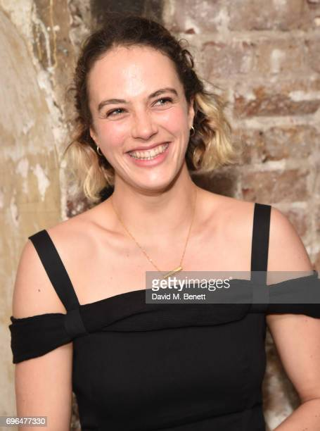 Jessica BrownFindlay attends the press night after party for The Almeida Theatre's 'Hamlet' playing at the Harold Pinter Theatre on June 15 2017 in...