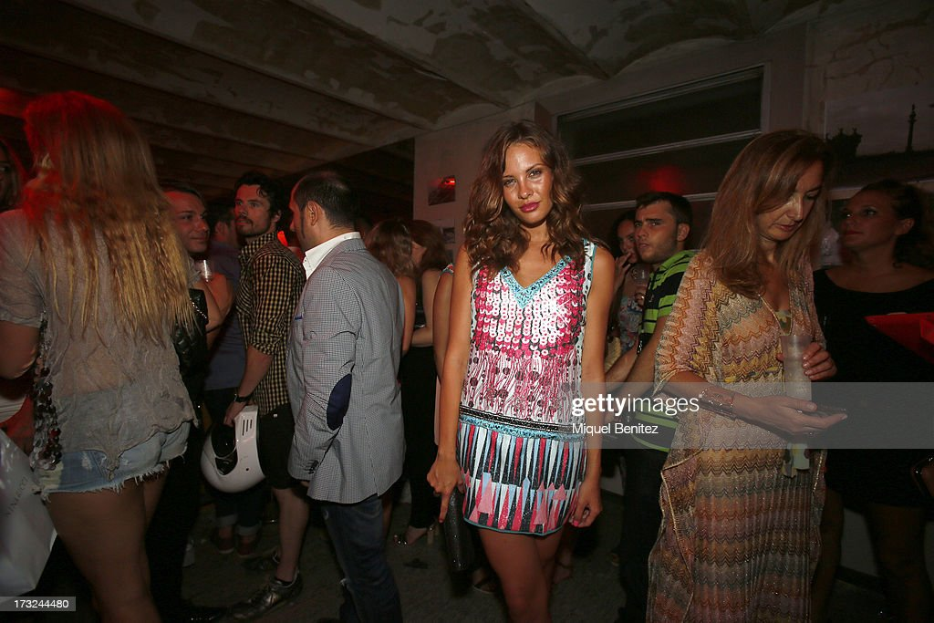 Jessica Bueno attends the Custo Dalmau's nightlife after the Custo Dalmau's Spring-Summer 2014 Collection during 080 Barcelona Fashion Week on July 10, 2013 in Barcelona, Spain.