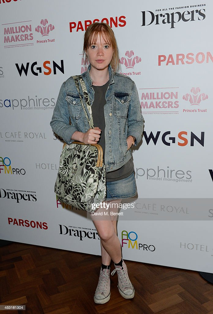 Jessica Bumpus attends the VIP charity event, which Drapers and WGSN Group, partnered with Parsons The New School for Design and the British Fashion Council to hold, in aid of the Prince's Trust Million Makers on August 4, 2014 in London, England. The event saw the launch the acclaimed book 'The School of Fashion: 30 Parsons Designers' by Simon Collins, Dean of Fashion at Parsons. The richly-illustrated volume explores the legacy of Parsons through the testimony of its brightest alumni, with interviews and sketches from Donna Karan, Alexander Wang, Jack McCullough and Lazaro Hernandez of Proenza Schouler, and many others.