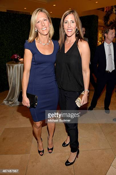 Jessica Burritt and Alicia Martinez attend the celebration of Van Cleef Arpels newly redesigned South Coast Plaza Boutique at Van Cleef Arpels on...