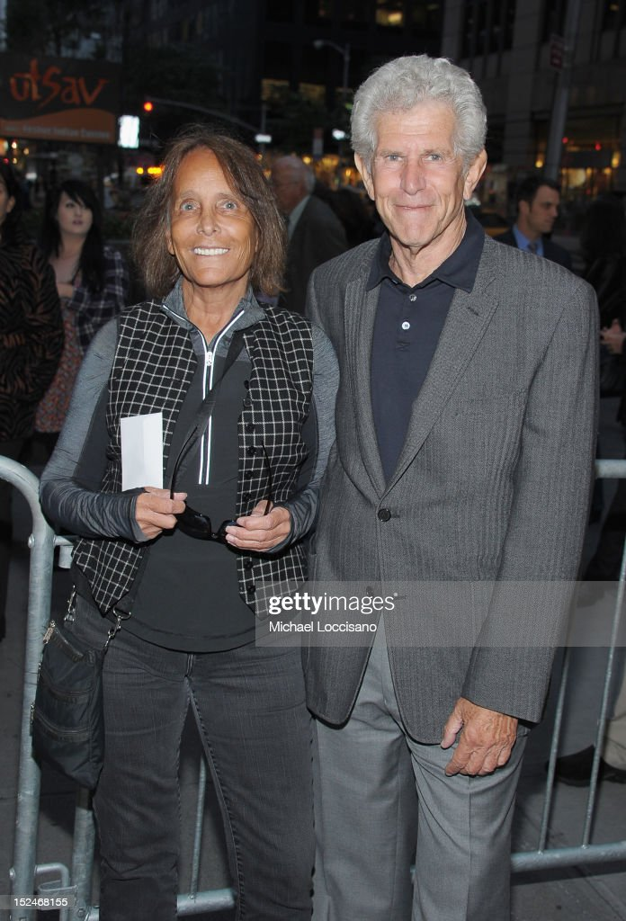 Jessica Burstein and Actor Tony Roberts attend the 'If There Is I Haven't Found It' Broadway opening night at Laura Pels Theatre on September 20, 2012 in New York City.