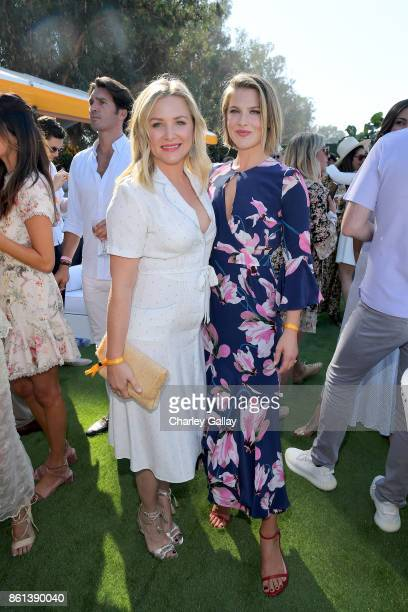 Jessica Capshaw and Ali Larter at the Eighth Annual Veuve Clicquot Polo Classic on October 14 2017 in Los Angeles California