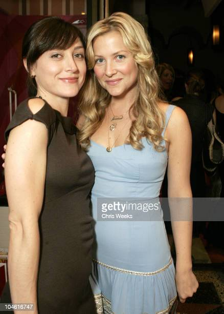 Jessica Capshaw and guest during Lucky Magazine Host Party for Hollywould Shoes at Star Shoes at Star Shoes in Hollywood California United States