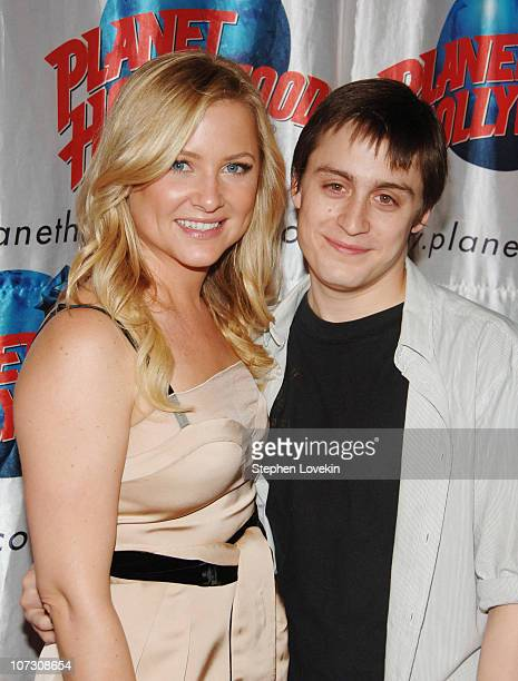 Jessica Capshaw and Kieran Culkin during Opening Night Party for Second Stage Theatre's Production of Eric Bogosian's 'subUrbia' at Planet Hollywood...