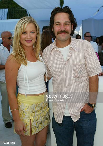 Jessica Capshaw and Paul Rudd during Dior Dance for Life to Benefit the Aaliyah Memorial Fund a Program of the Entertainment Industry Foundation at...