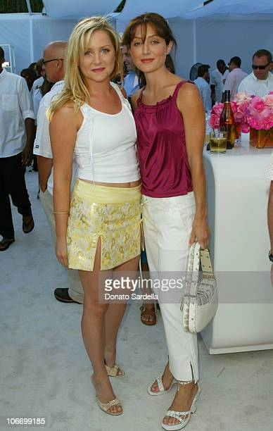 Jessica Capshaw and Sasha Alexander both in Dior during Dior Dance for Life to Benefit the Aaliyah Memorial Fund a Program of the Entertainment...