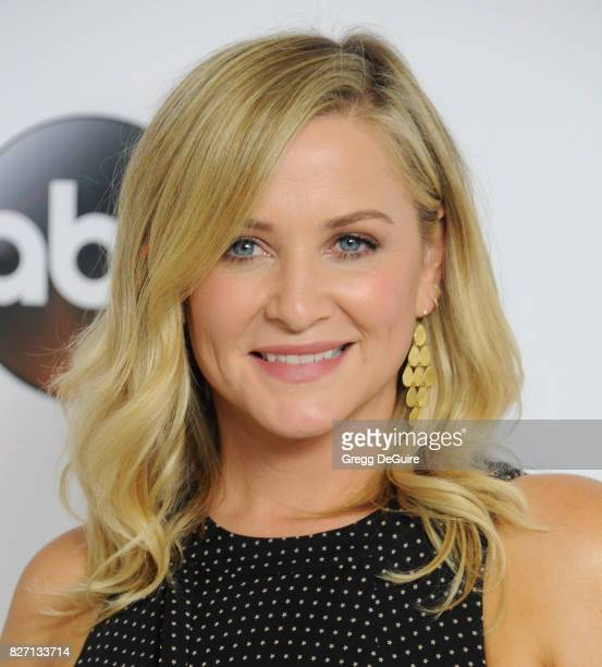 Jessica Capshaw arrives at the 2017 Summer TCA Tour Disney ABC Television Group at The Beverly Hilton Hotel on August 6 2017 in Beverly Hills...