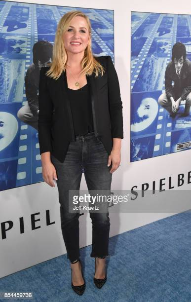 Jessica Capshaw at HBO's 'Spielberg' Premiere at Paramount Studios on September 26 2017 in Hollywood California