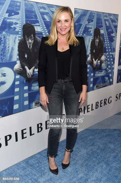 Jessica Capshaw at the Premiere Of HBO's 'Spielberg' at Paramount Studios on September 26 2017 in Hollywood California